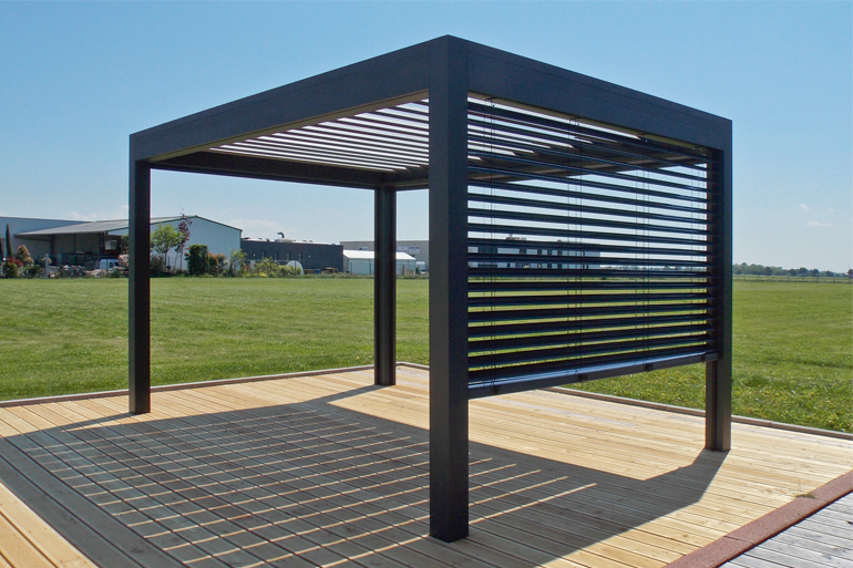 Open marquises for Pergola design alu