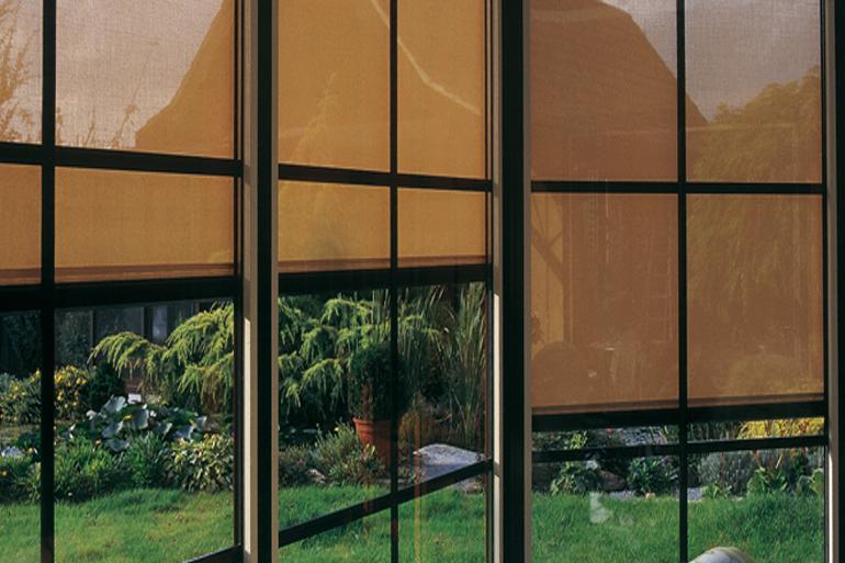 Fensterfrontbeschattungen Marquises