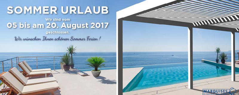 Sommer Urlaub 2017